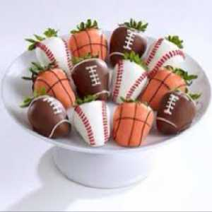 strawberries touchdown