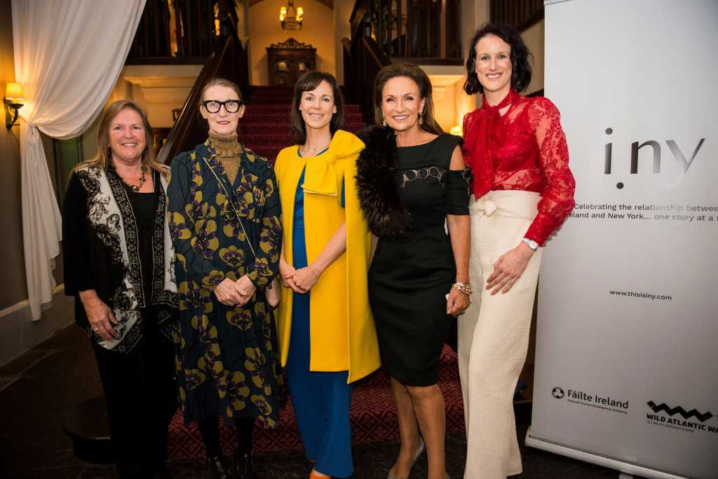 Dr Jane Sanders, Orla Kiely, Dr Leonie Lynch, Celia Holman Lee, Sharon Mc Meel