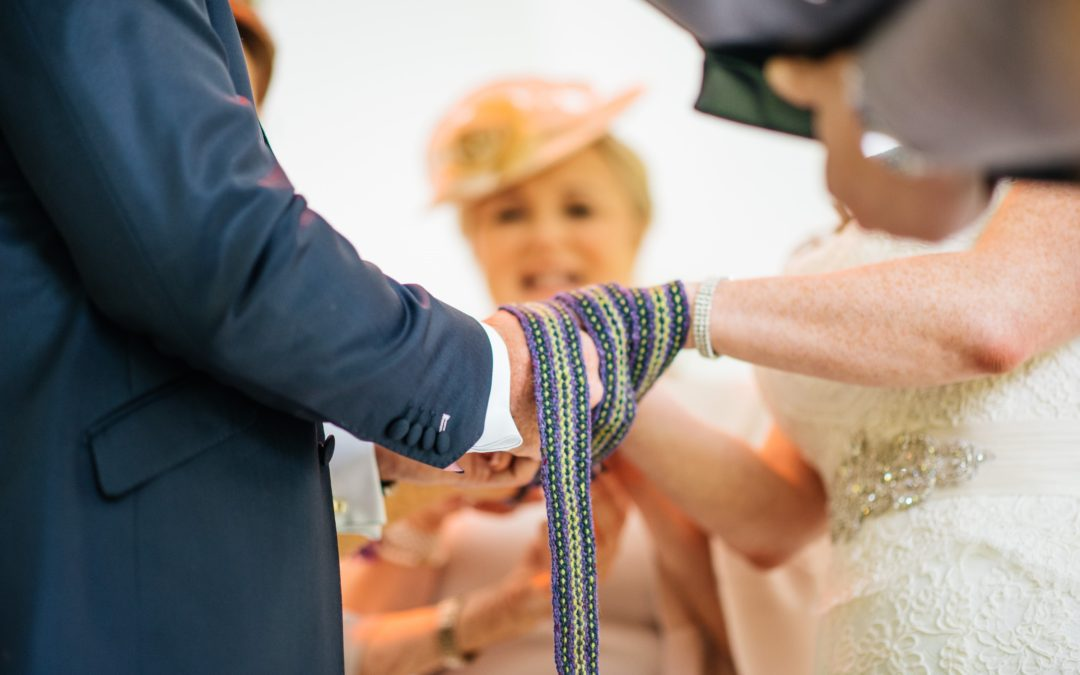 Robyn and Brian Handfasting